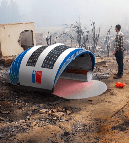 Arriva la tenda solare intelligente per far fronte alle catastrofi naturali