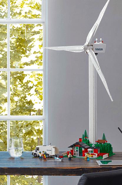Lego lancia sul mercato una vera turbina eolica tutta da costruire