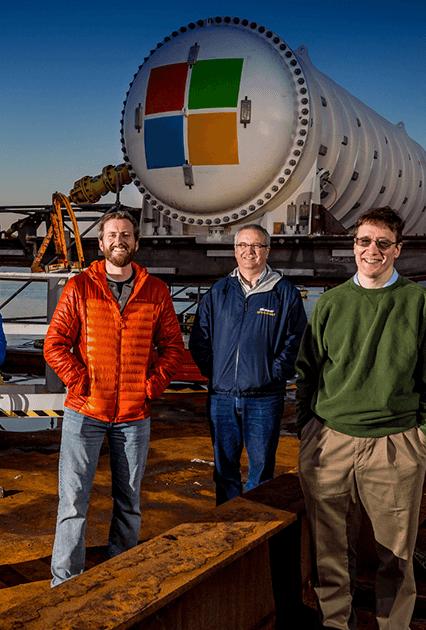 Microsoft testa nuove banche dati sottomarine alimentate al 100% da energia rinnovabile